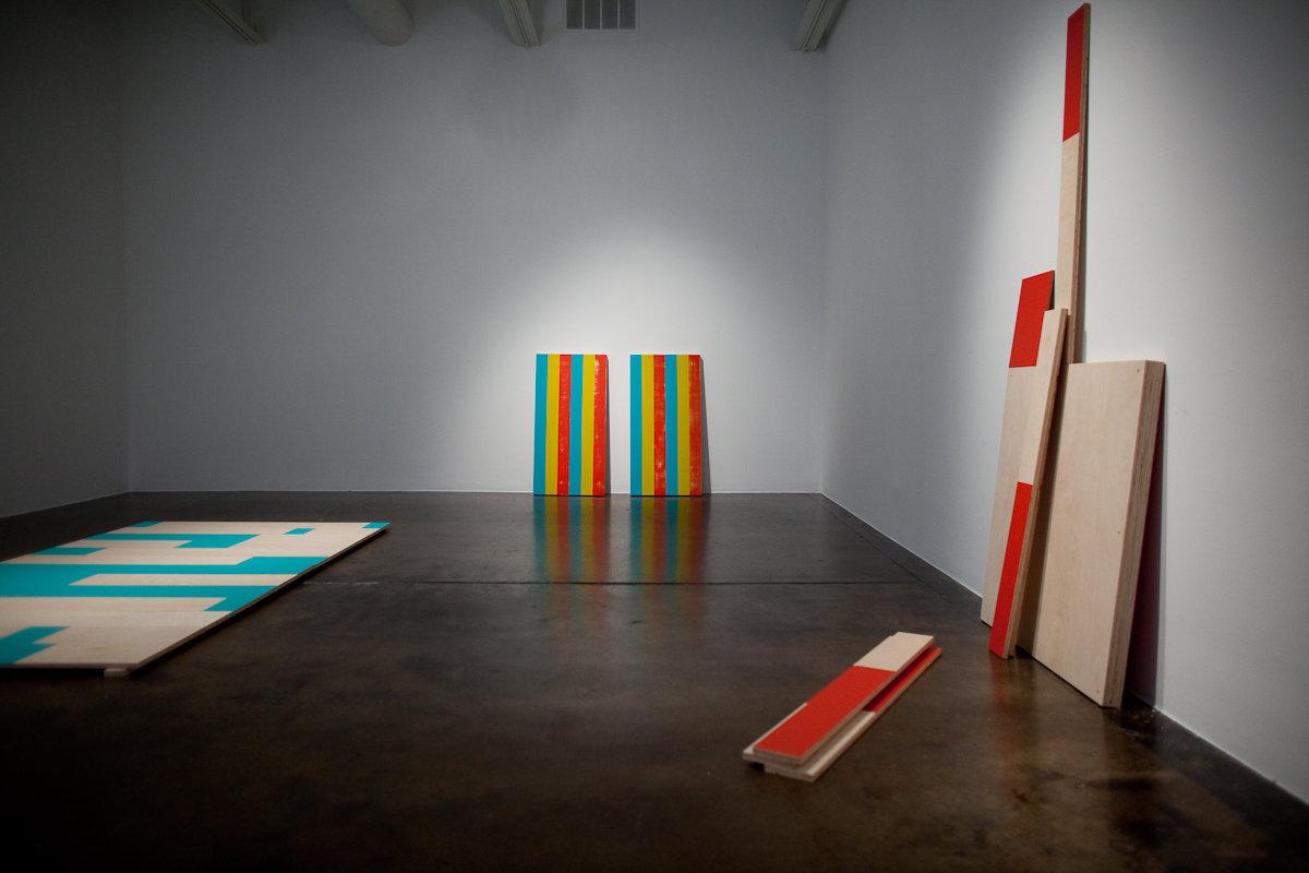 """""""Sleeper,"""" 2009 (installation view)"""