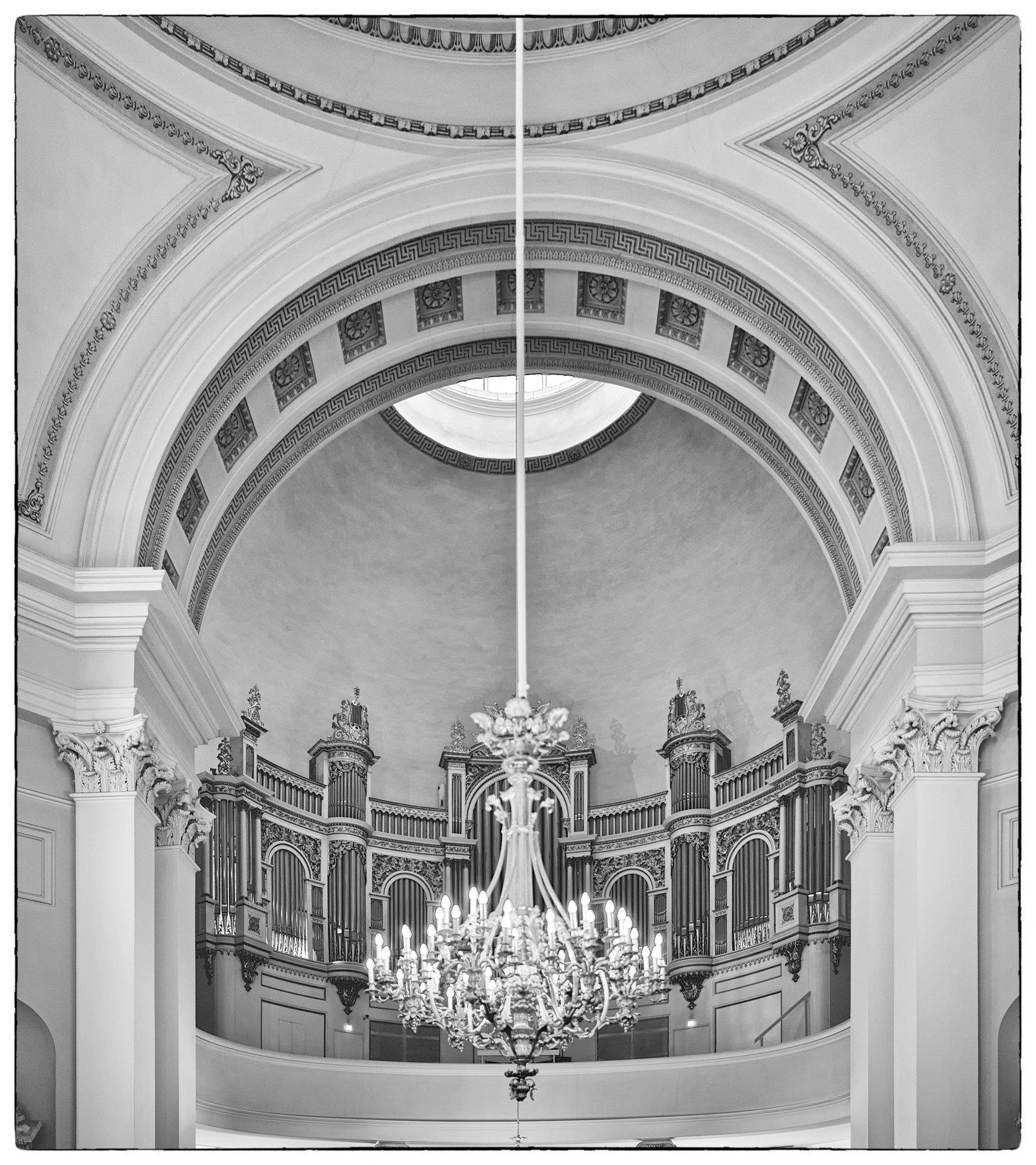 Organ, Cathedral, Helsinki, 2013