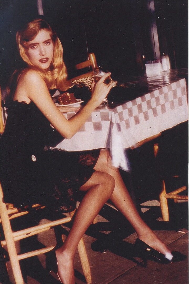 RENEE GRAHAM-   INTL SUPERMODEL, H'WOOD ACTRESS with supporting roles in several movies.