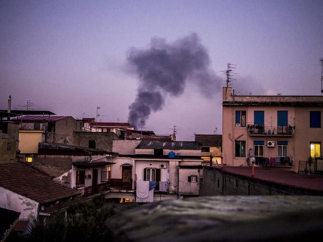 1-Toxic smoke near households.