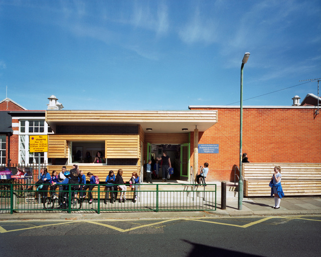 Westborough Primary School. Cottrell and Vermeulen Architects.