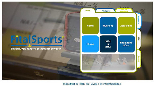 Startpage website Fitalsports