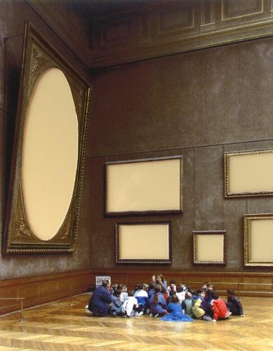 Musee du Louvre II, 1989, Paris