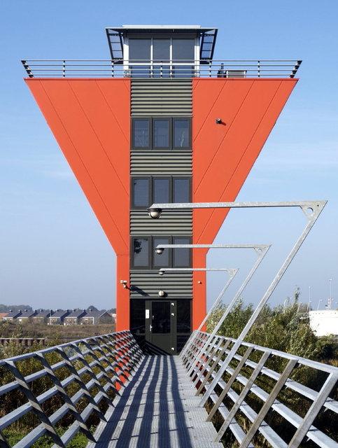 zwolle - brug-gebouw