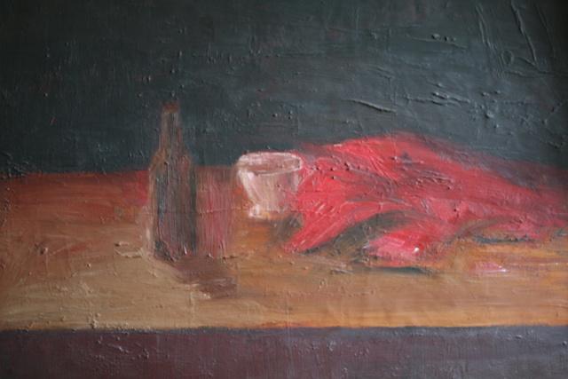 martwa natura 1, 80x60, olej/płótno,