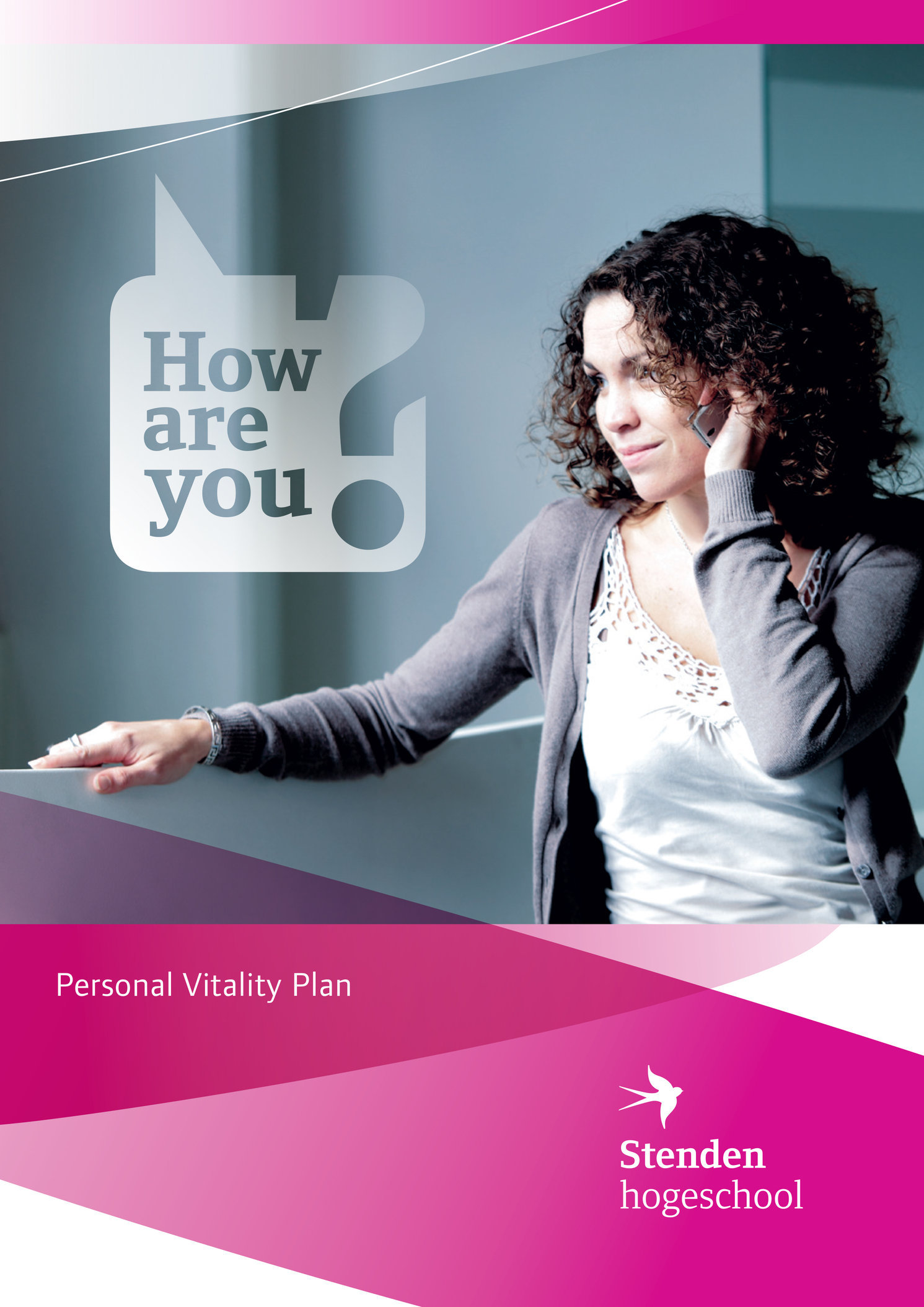 Photography for Stenden Personal Vitality Plan