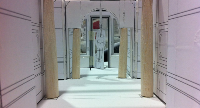 Model of Hallway