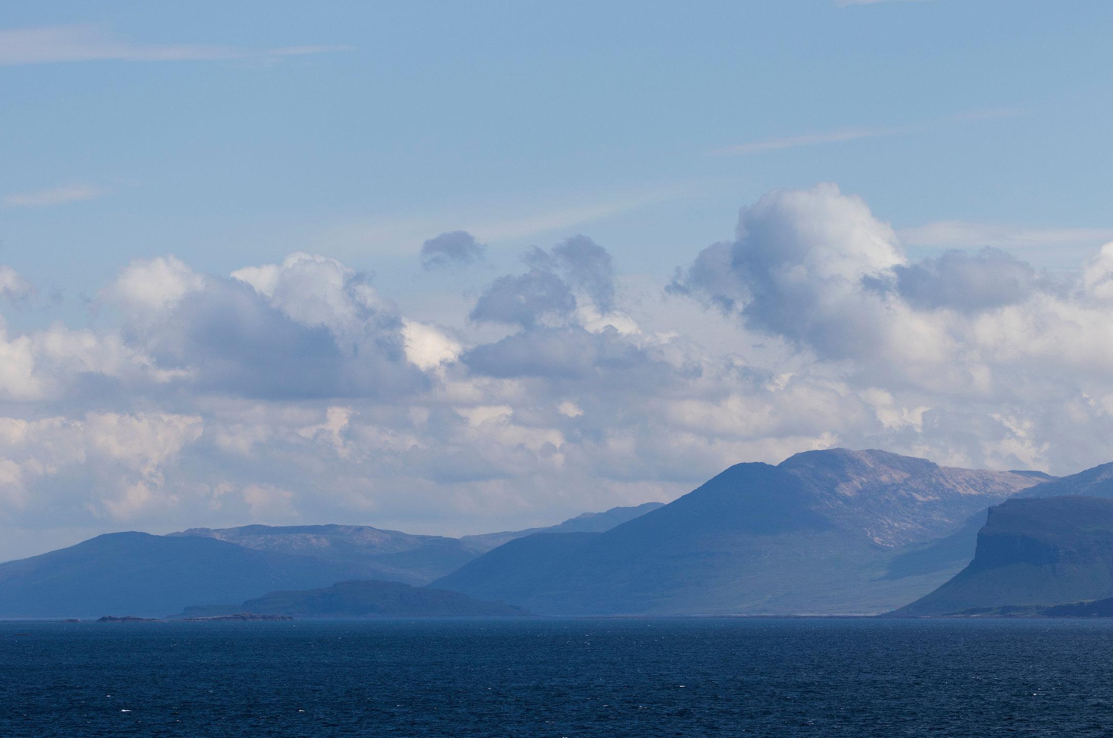 Mull coastline