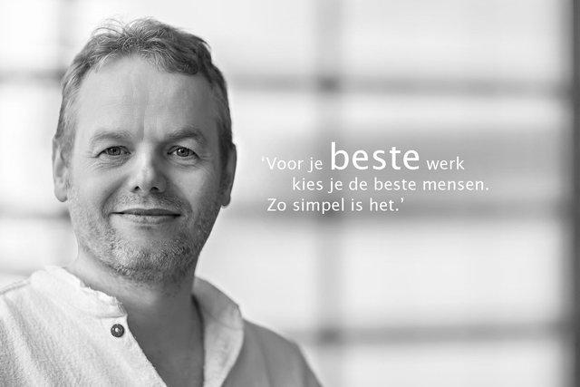 Erik Meijerink is creatief eindverantwoordelijk bij Dizain