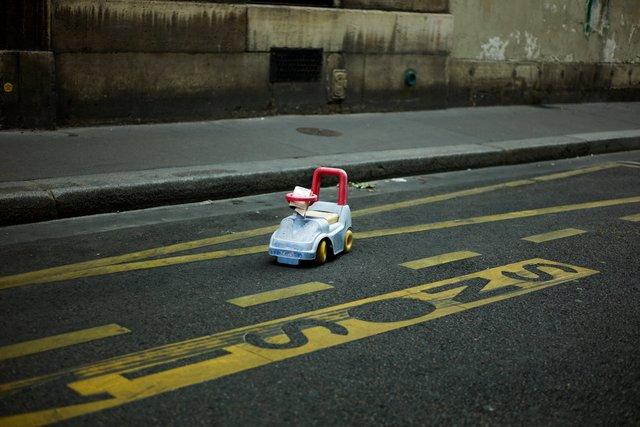 The Parking Ticket, Paris