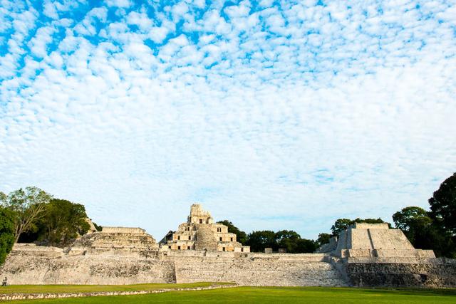 Edzná Mayan Ruin, Campeche, México