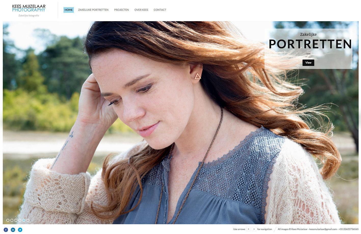 20 juli | Nieuwe zakelijke website online | New corporate work website launched.