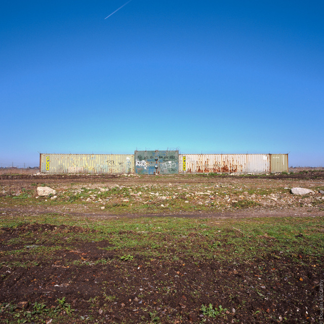 Outbuilding on Tilbury marshes