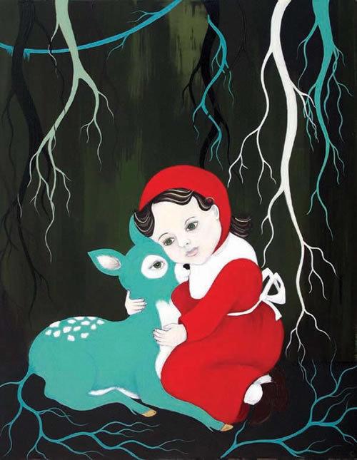 Untitled (Deer Girl) (2009)
