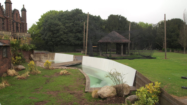 Aviary and Penguin pool