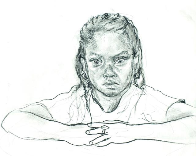"""Peekskill Girl, 15 x 20"""""""