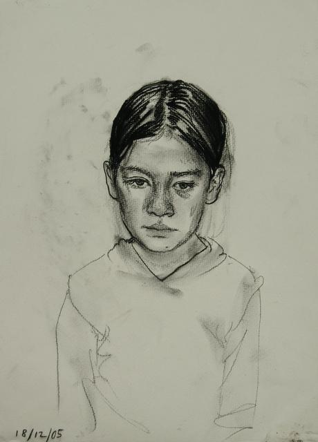 Somber Girl, 22 x 16 sold