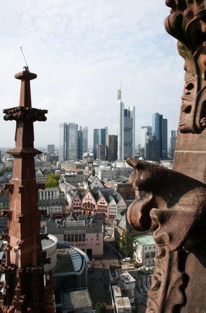 frankfurt vanaf kerk