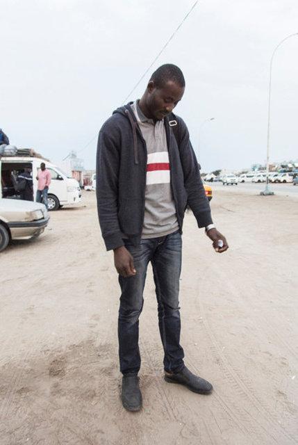 Kossi, 35, (Sierra Leone).
