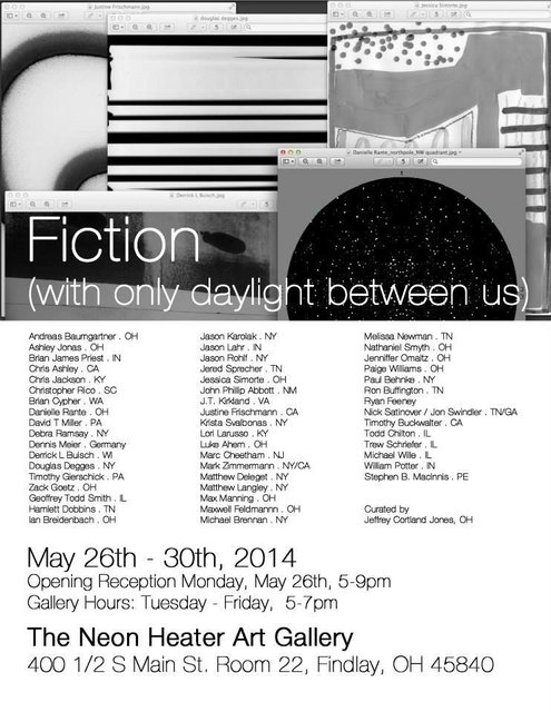 Fiction (with only daylight between us)