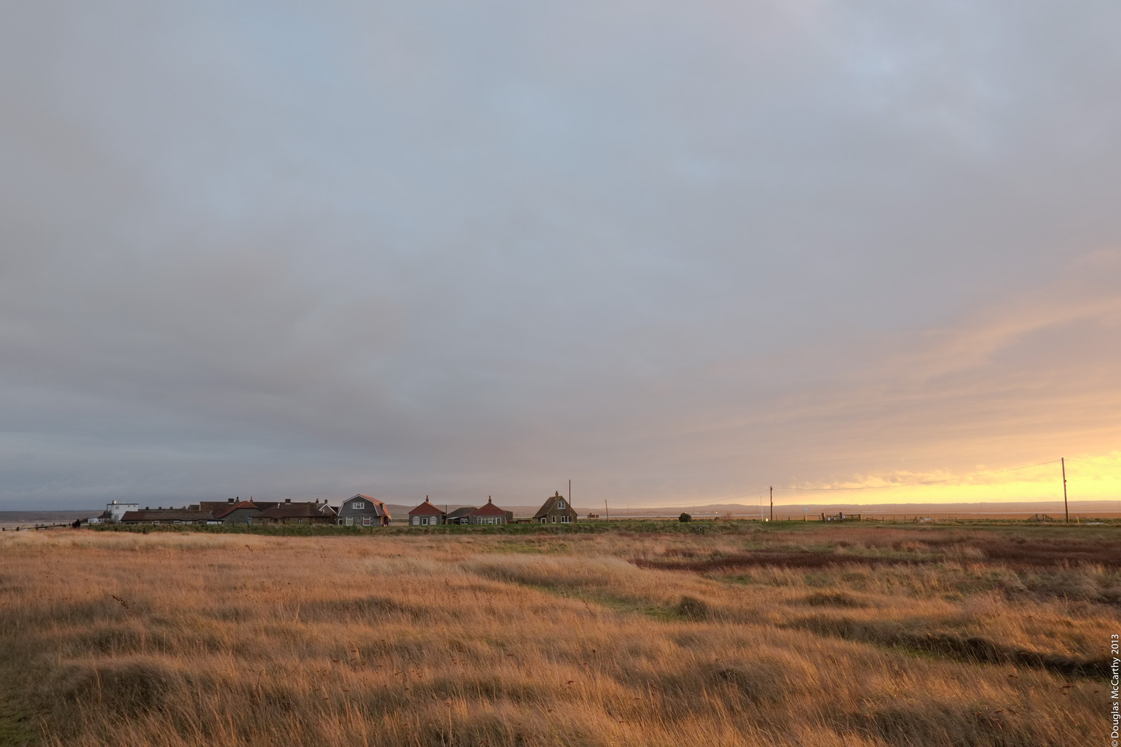 Dusk at Shellness Hamlet