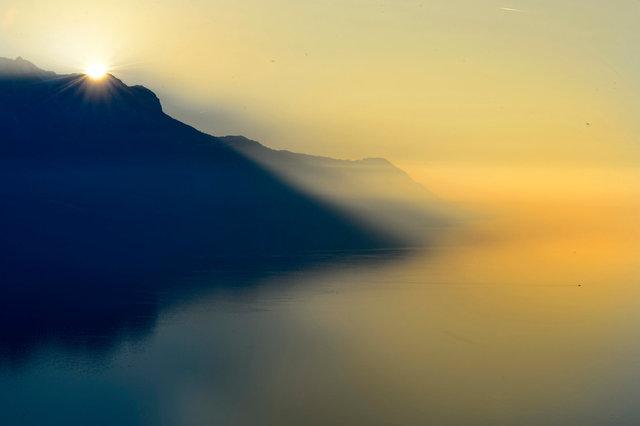 Sunset - Montreux  - 2015