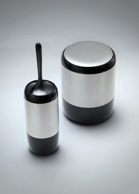Lima - Toilet Brush and Trash Bin - 2012