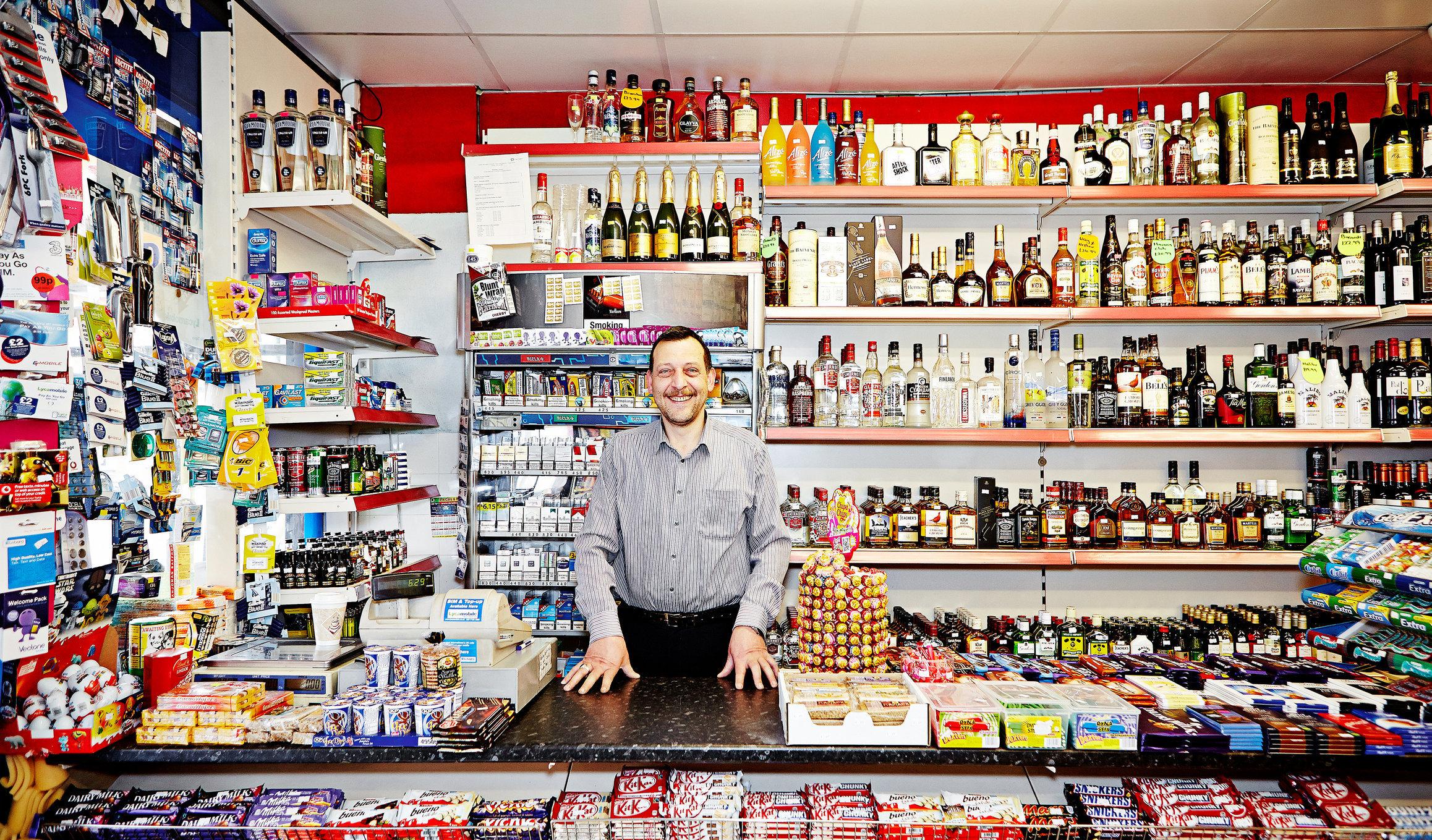 Yusuf Sevik, Illy's Supermarket, Cricklewood Broadway