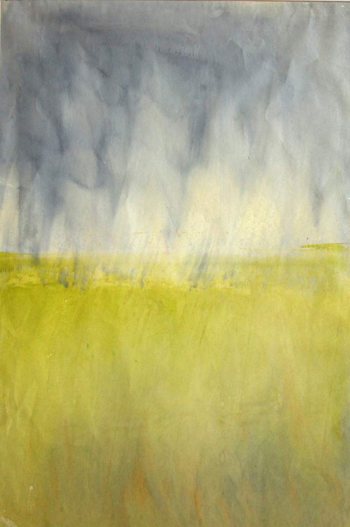 """THE STORM I - 24"""" x 16"""" SOLD"""