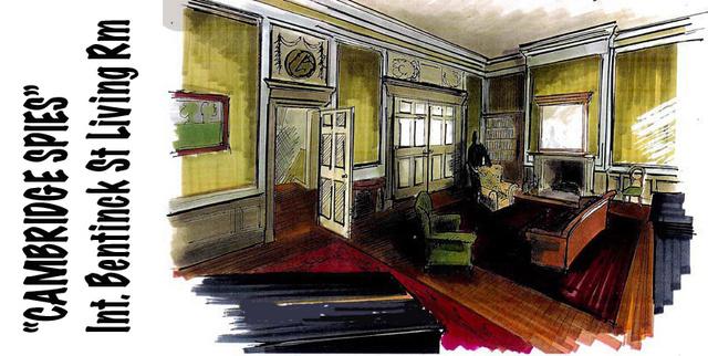 Bentinck Street Interior - Living Room