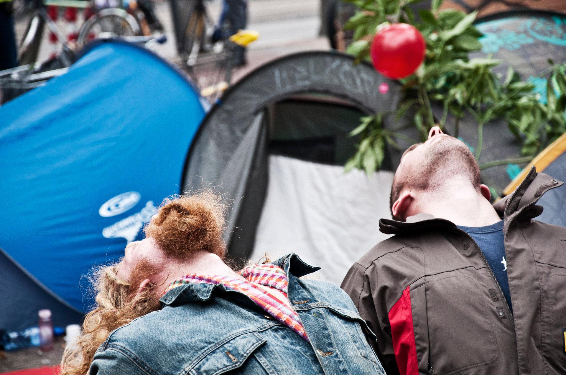 Occupy amsterdam, dag 3