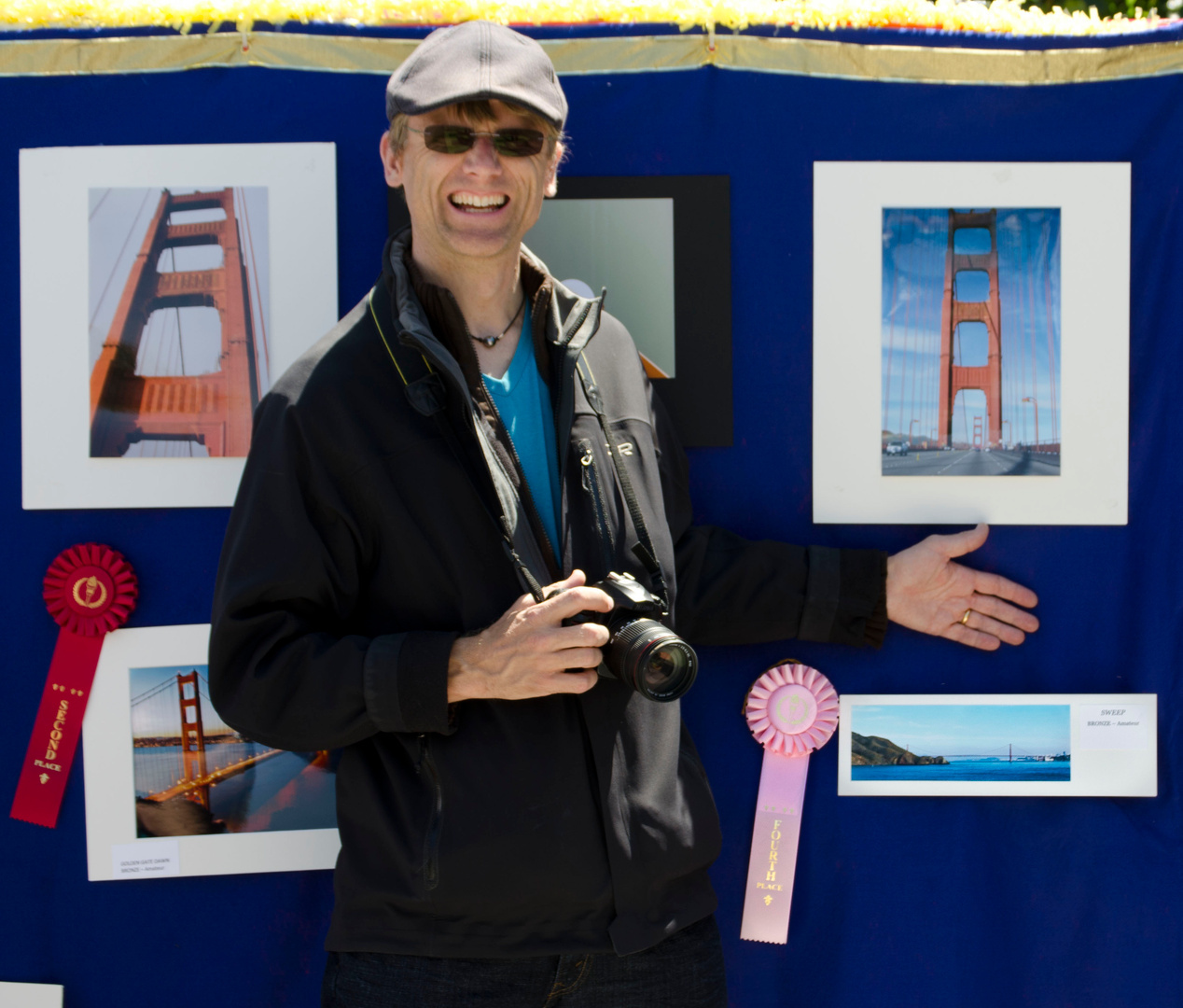 Fourth Place, Amateurs 2012,<br>75th Golden Gate Bridge Anniversary<br>Sausalito Photo Contest.