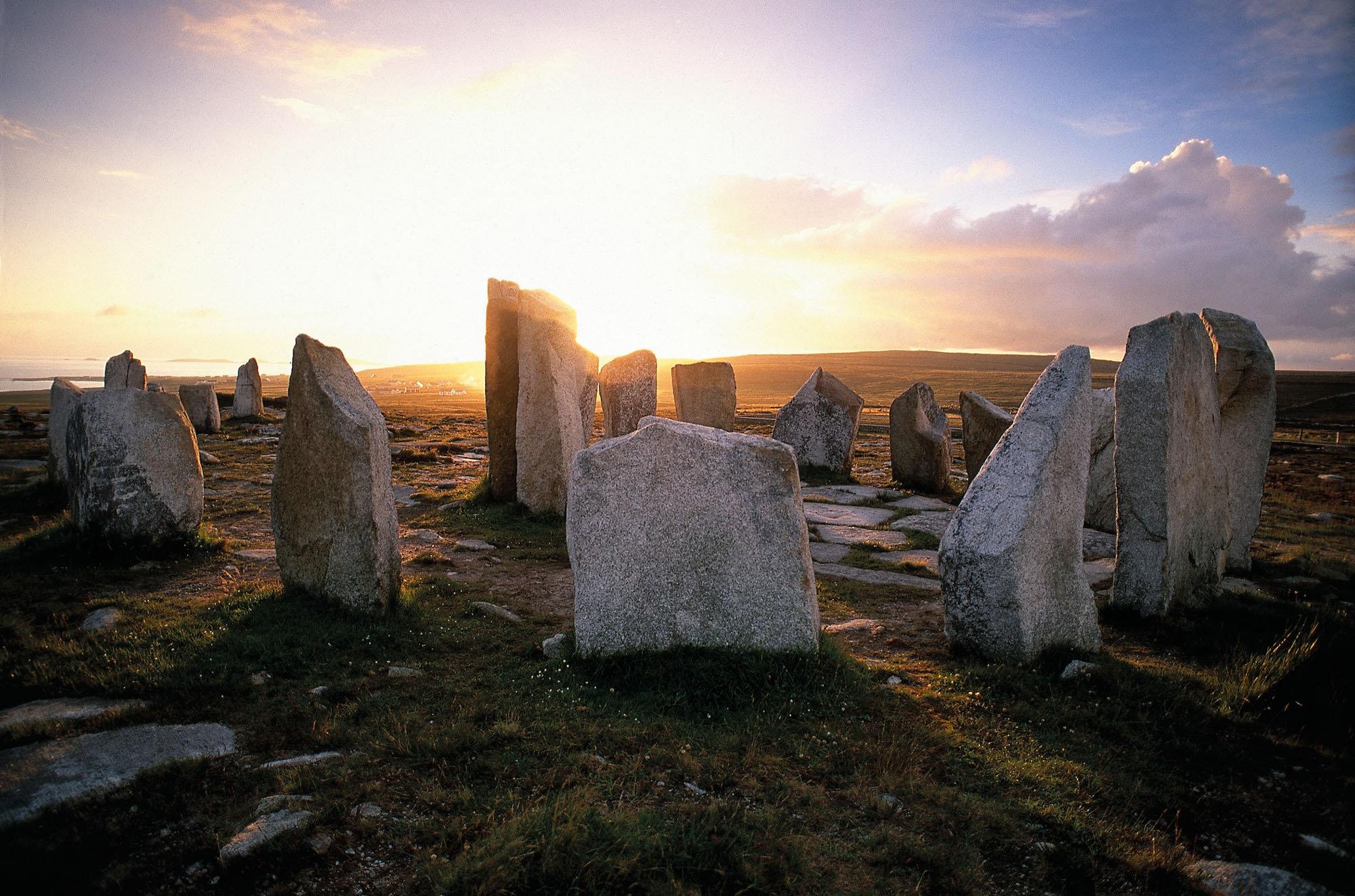 Cromlec'h de Tyr Sail,Péninsule de Belmullet,comté de Mayo