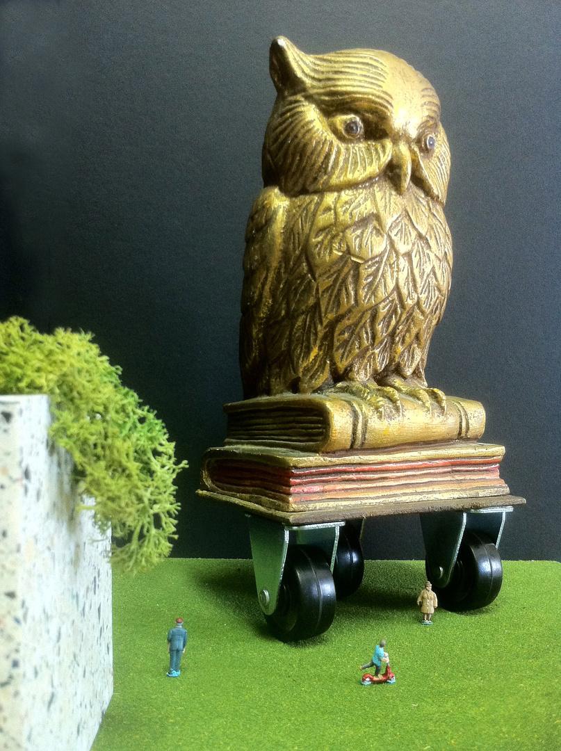 Mickey the Owl
