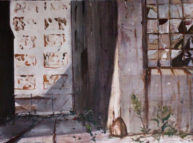 "Abandonded Warehouses   22 x 30"""