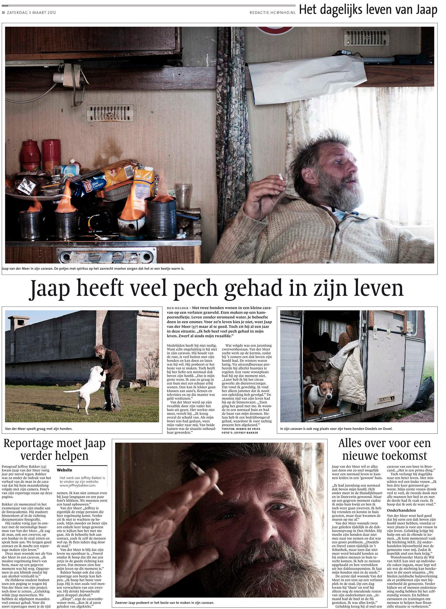 Jaap, publicatie NHD