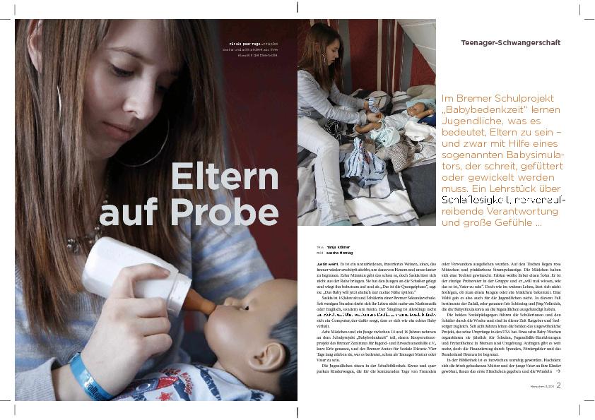 MENSCHEN.das magazin 03.2011