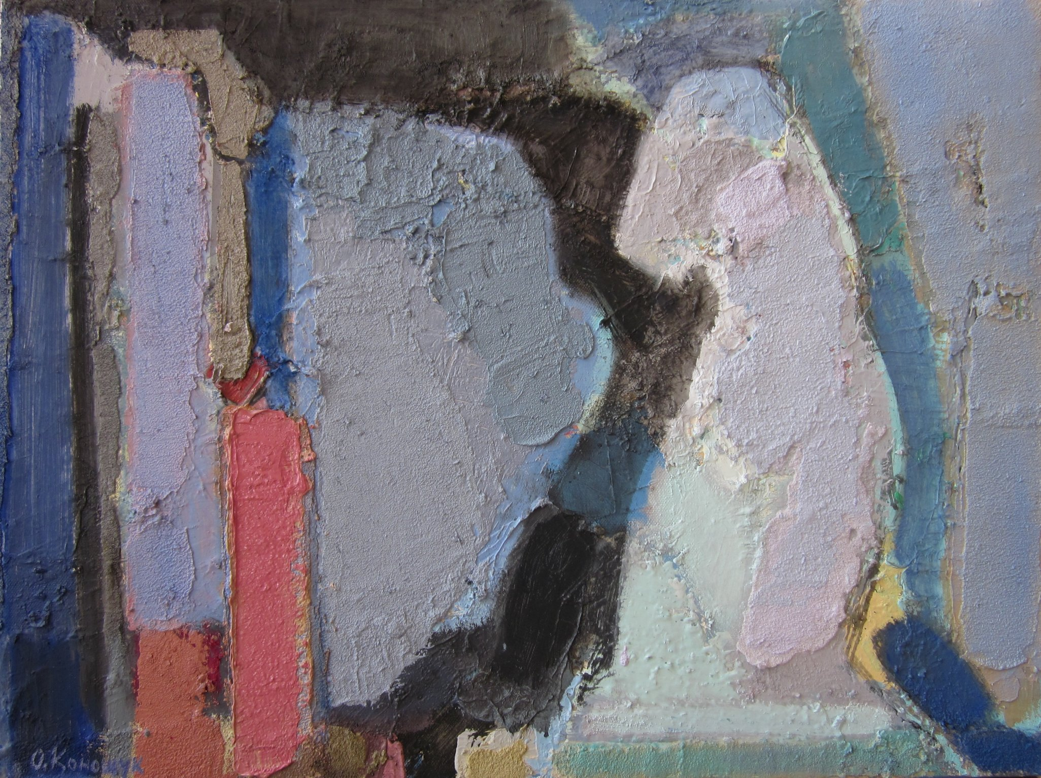 'Bookshelf with Venus' 2016 / 45x60cm / oil on canvas
