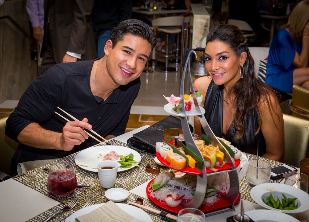 Mario Lopez 40th Birthday at Andreas at Encore at Wynn Las Vegas