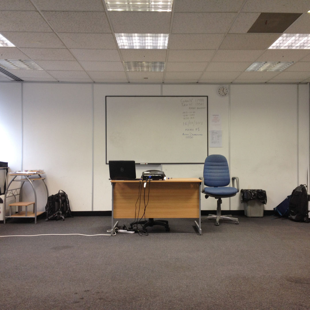 G4S training classroom, Romford Road, 2012