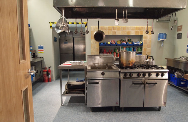 Research centre - kitchen