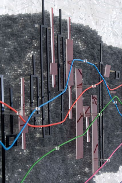 Charts: Τaking Stock I (detail)