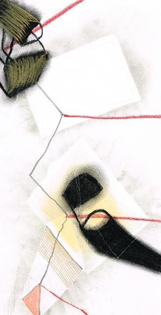 Zonder Titel, 2013  16,4 x 31,4 cm