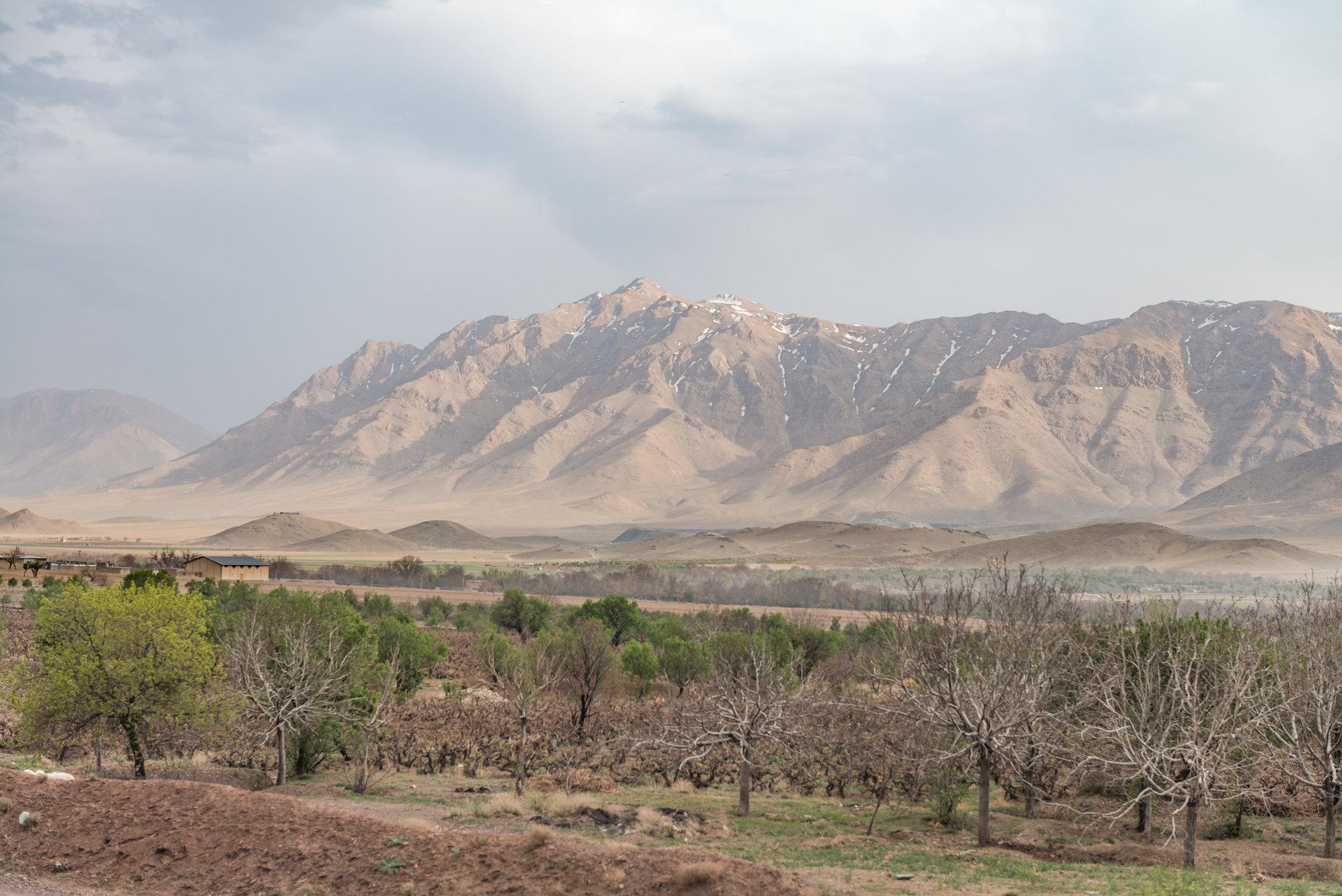 Mountains near Bavanat