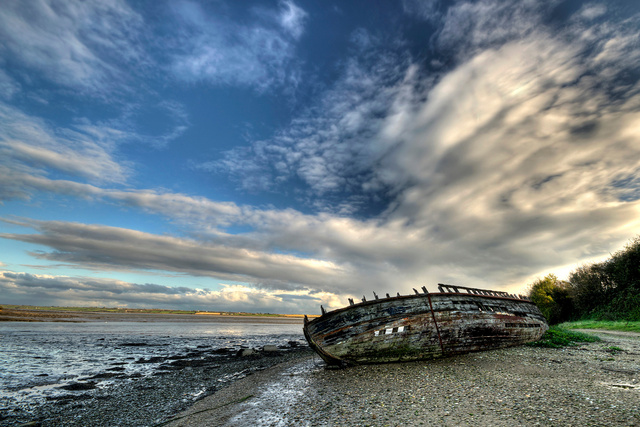 Old Boat, Co. Wexford