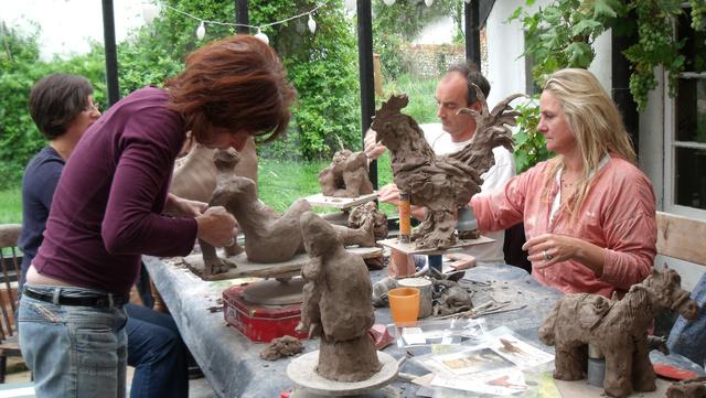 Suffolk Sculpture Workshop - August 2011