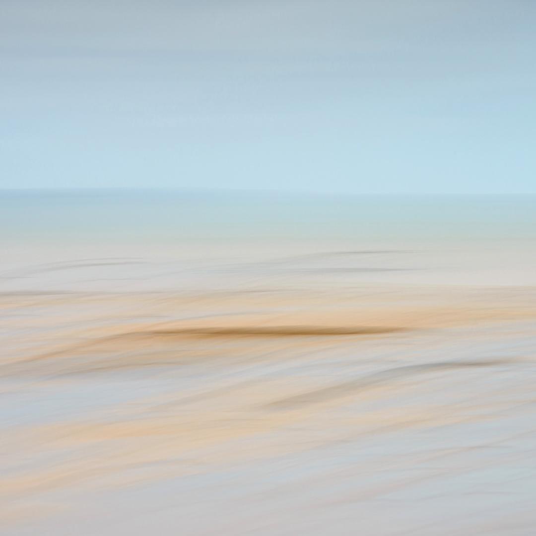 Clonea Beach Abstract, Dungarvan (Gold June 2013)
