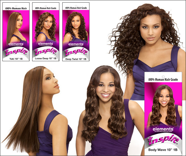 Package Design for Alicia International Inspire Elements Hair Products