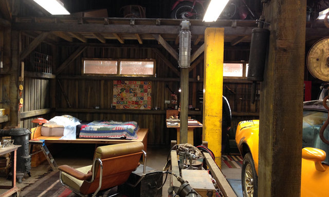 Dressed Studio set - Peary's Workshop