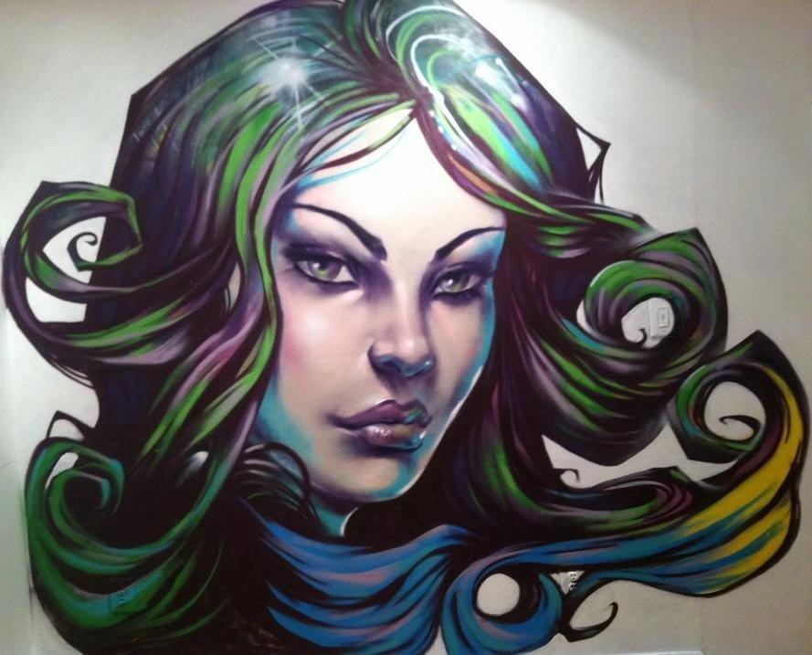 Apartment mural